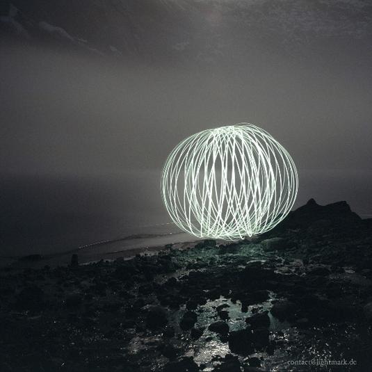 Light painting: Lightmark