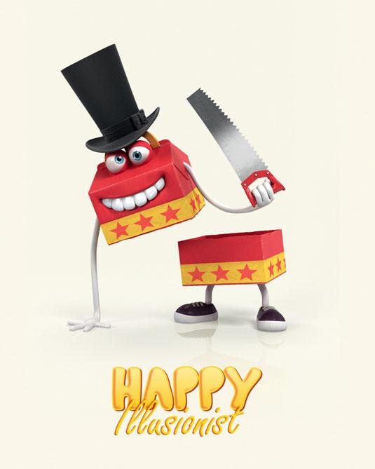 Character design: MacDonald's characters