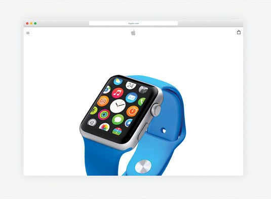 Don't try to redesign the Apple watch