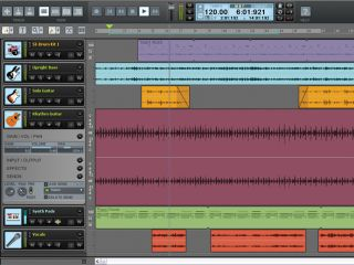 Guitar Tracks Pro 4 is based on Sonar technology