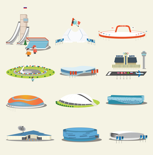 Fiasco Design Sochi Winter Olympics