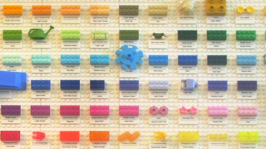Lego colour chart