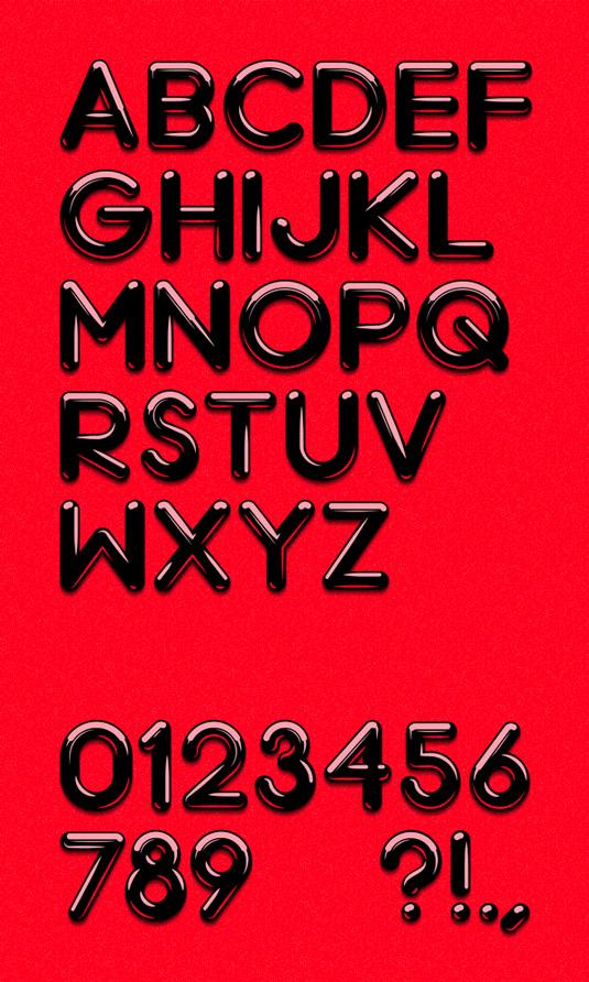 Free font: Chrome