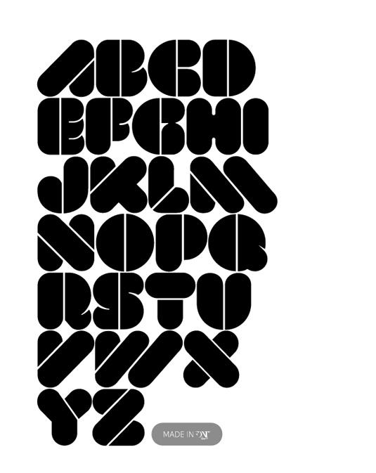 Free stencil fonts