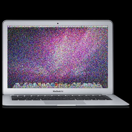 how to fix macbook pro screen glitch
