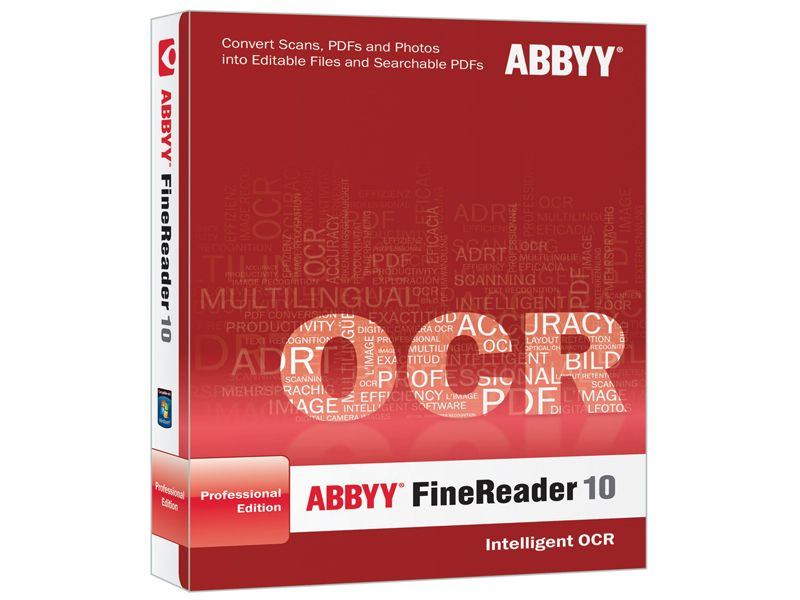 Best price abbyy finereader 10 professional edition