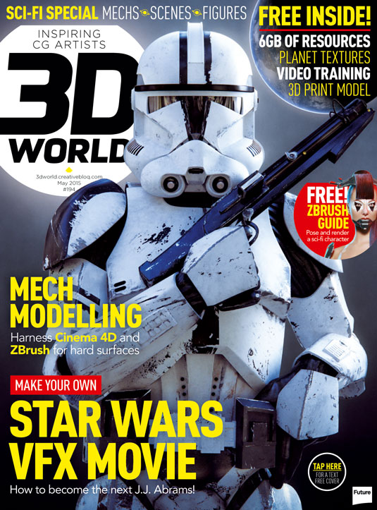 3D World 194 cover
