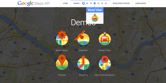 UI design: Google More Than A Map