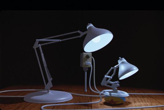 Pixar short: Luxo Jr