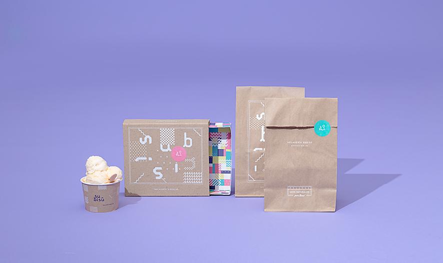 ice cream branding
