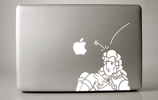 Mac decals - Newton