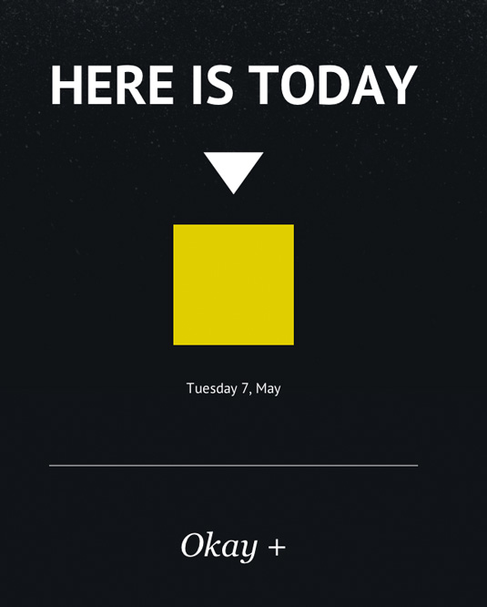 Web design: Here is Today