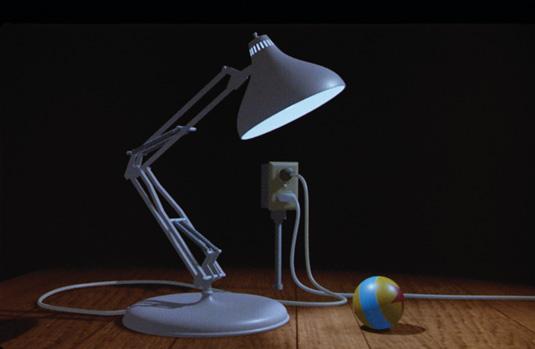 Pixar short Luxo Jr