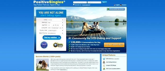 Std dating site fined