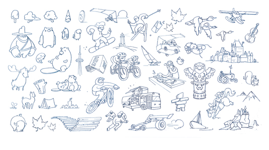Character Design Brief : How to fulfil a creative brief for red bull bloq