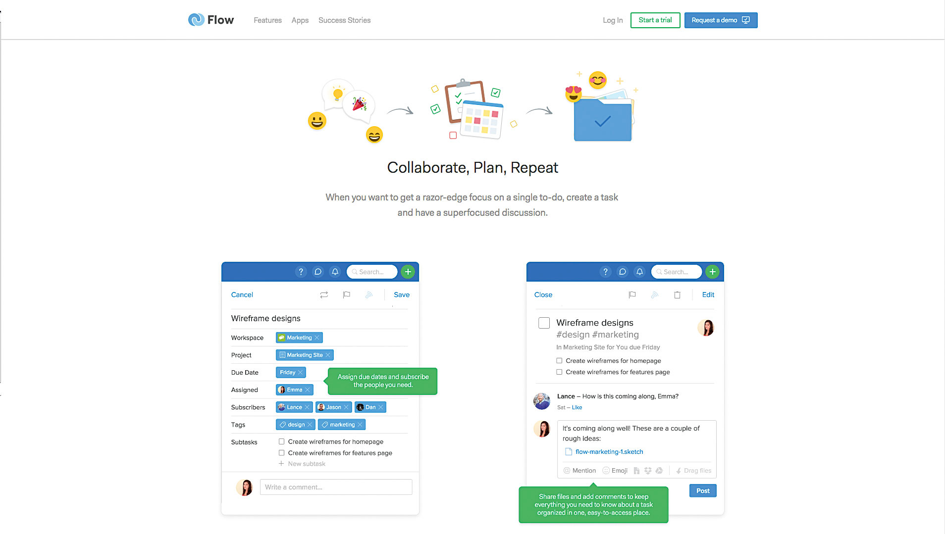 با این ابزار شما قادرید که قبل از این که برای تیم پروژه رو ارسال کنید تقسیم کار رو انجام بدید.