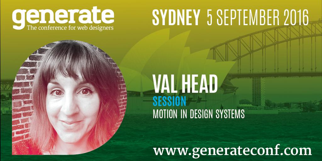 Generate Sydney - Val Head