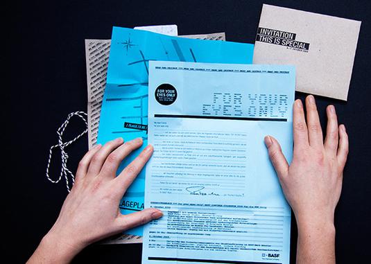 Invitation design: Wearedesign 2