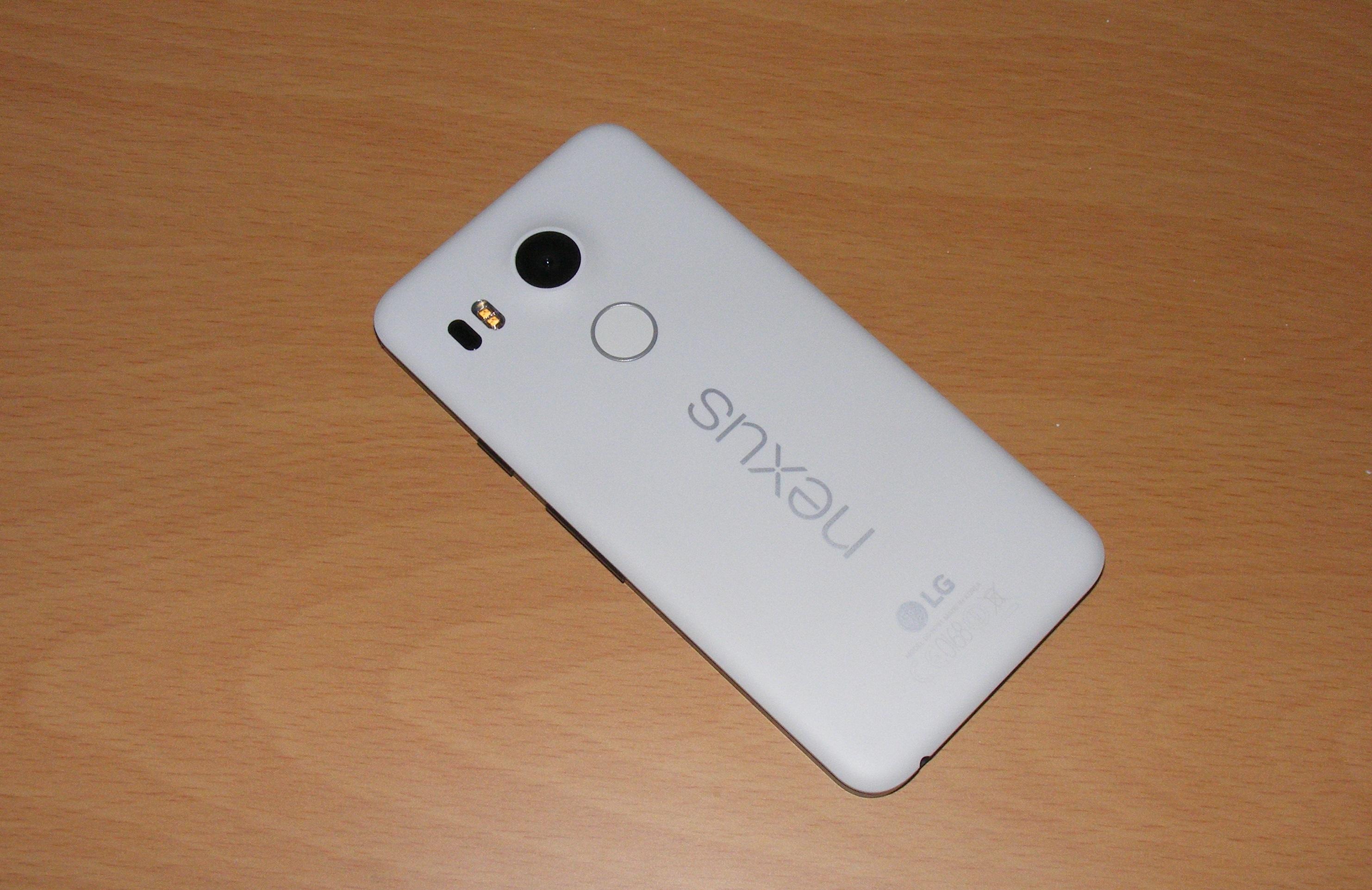 Nexus 5X back