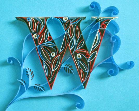 calligraphy paper art