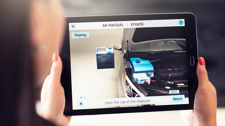 Are Augmented Reality Car Manuals The Future Hyundai Thinks So