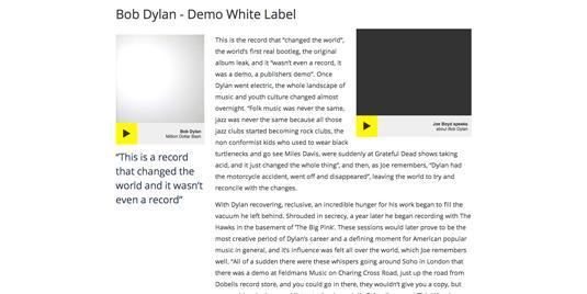 John Peel record collection website