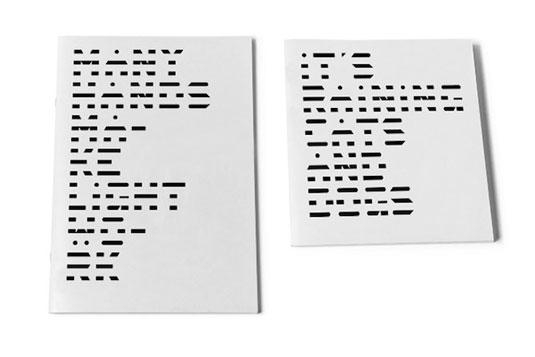 morse code typeface