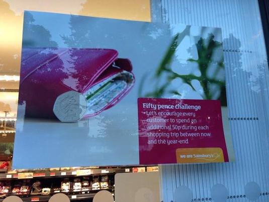 Embarrassing branding blunders - Sainsbury's