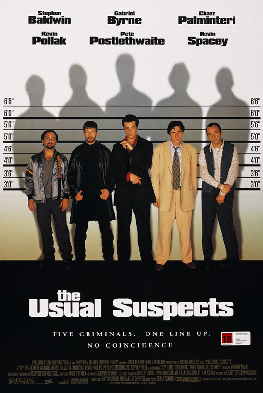 Movie posters: Usual Suspects