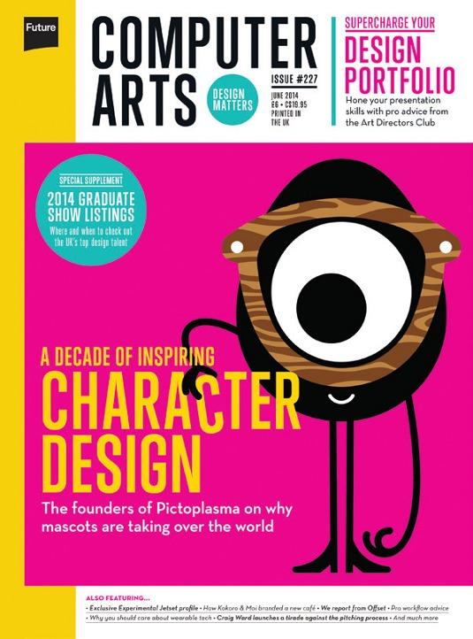 Character Design History : Computer arts explores the history of character design