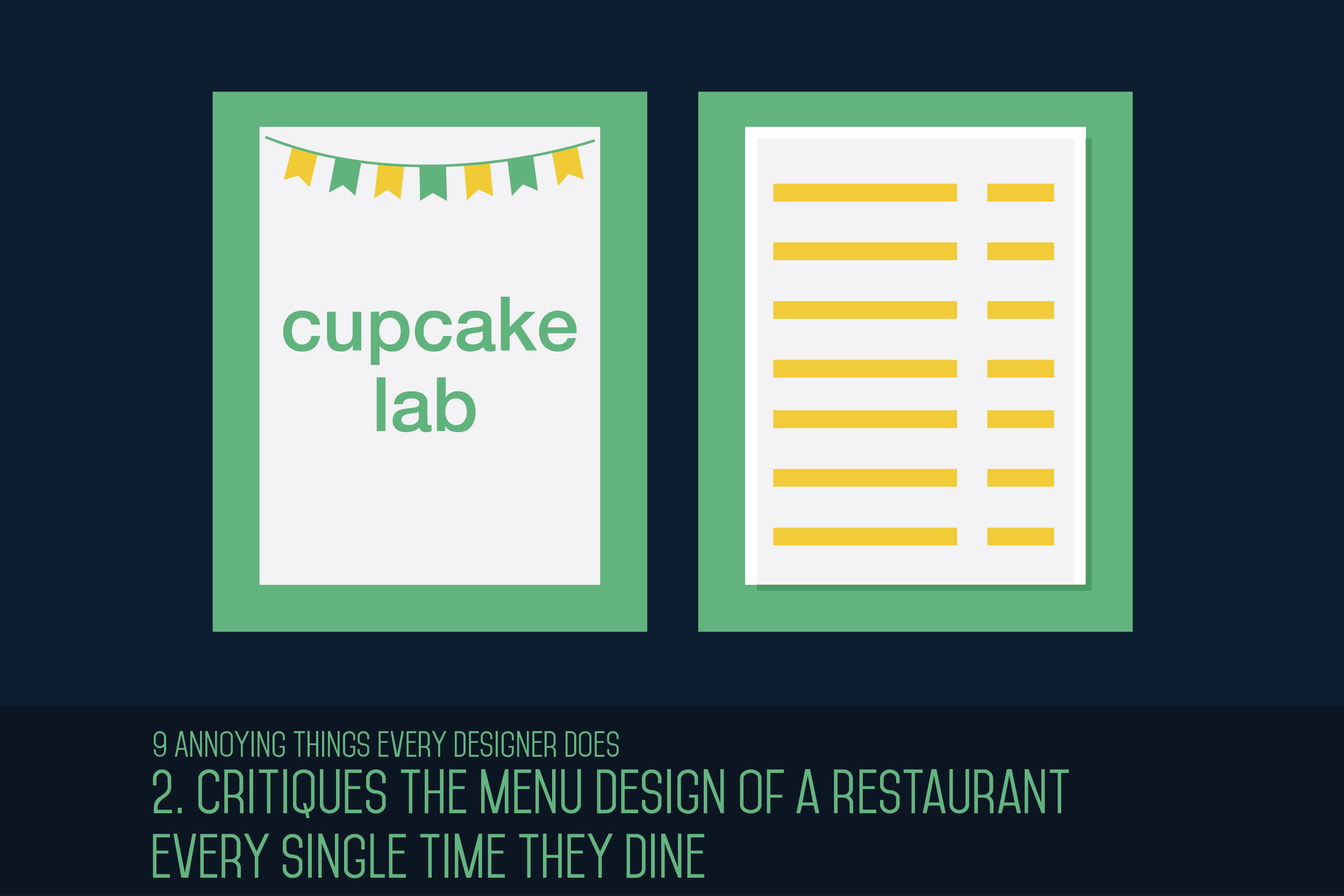 annoying things every designer does