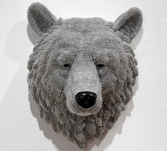 Faux taxidermy - Courtney Timmermans bear