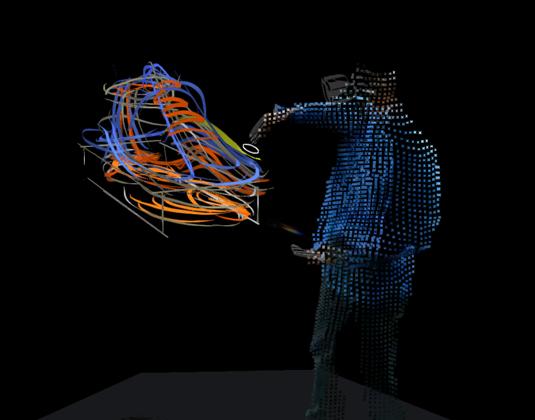 Virtual art session