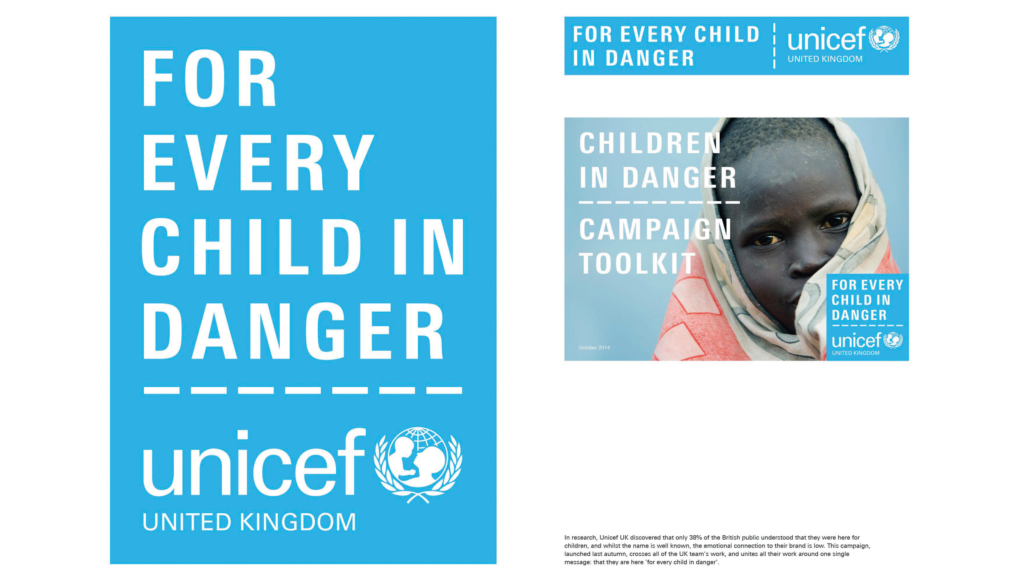 johnson banks: Unicef UK campaign