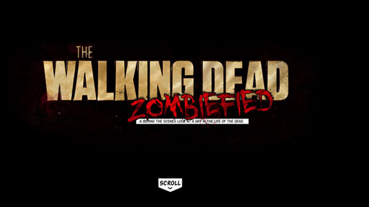 Parallax scrolling websites: Walking Dead