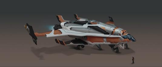 GameSpaceShip - main image