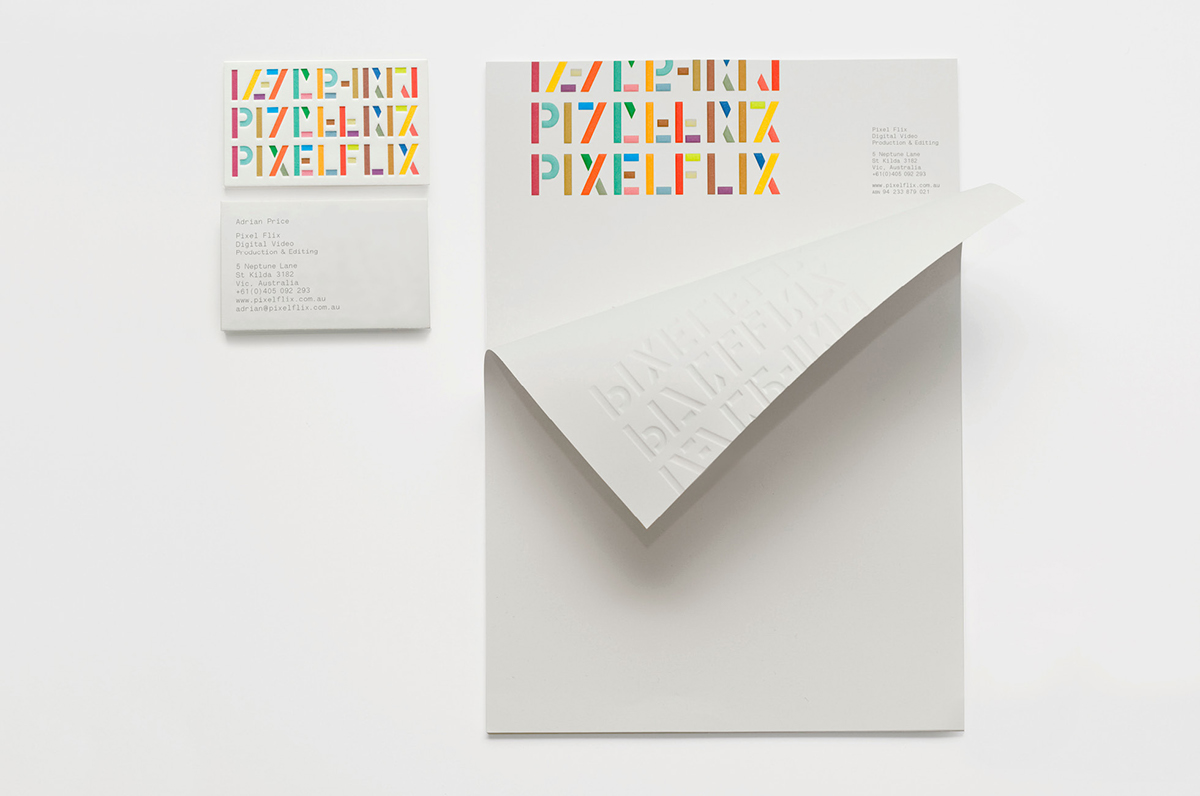 16 beautiful examples of letterhead design graphic design the pixelflix branding evolves from chaos into order spiritdancerdesigns Images