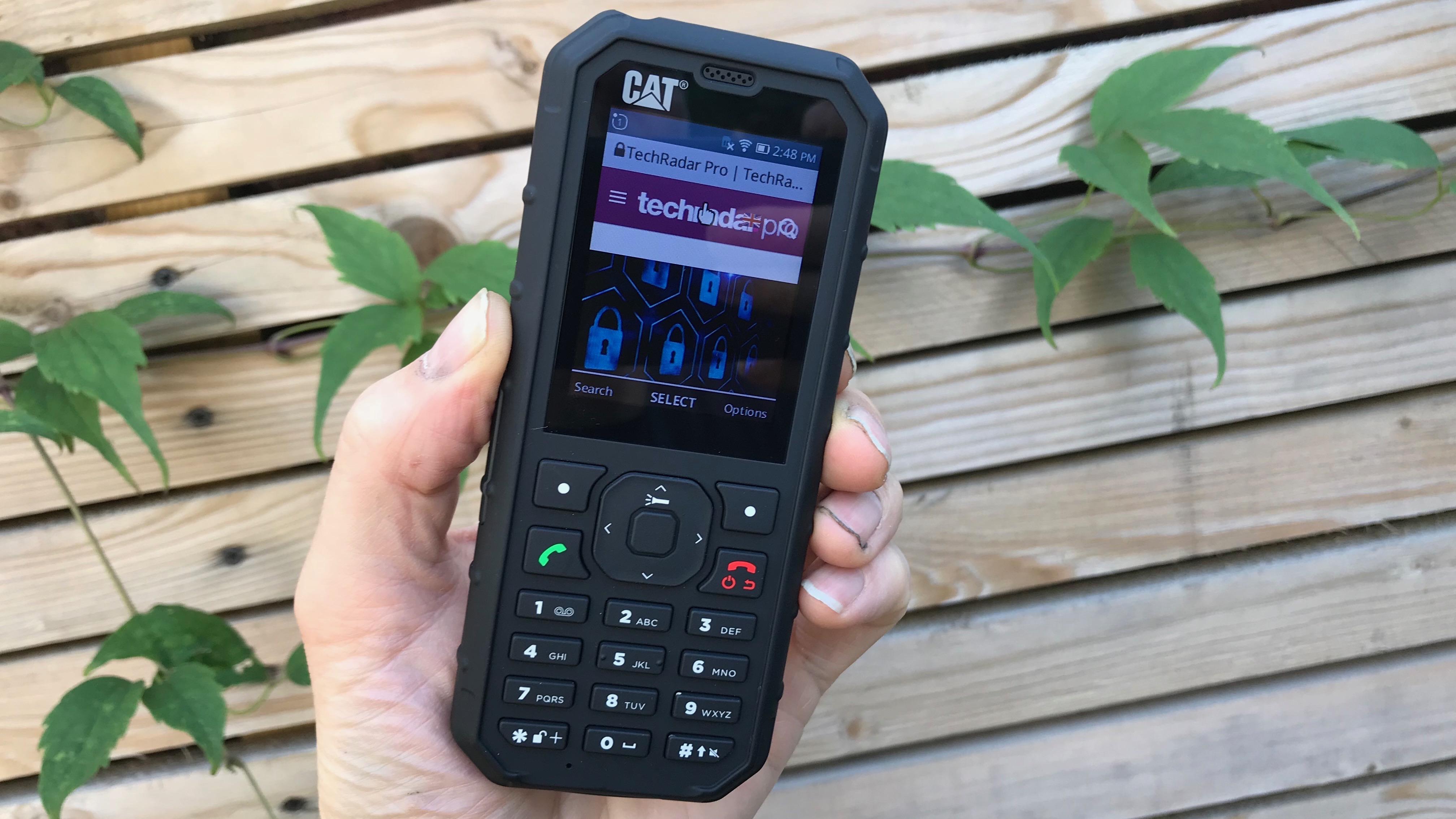 Phone outside