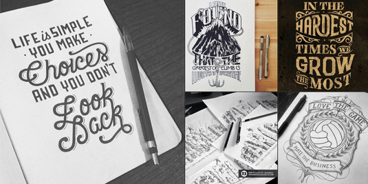typography instagram accounts