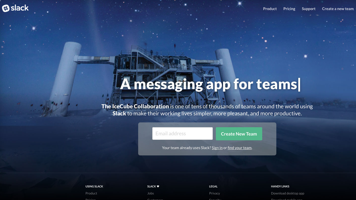 Online collaboration tools - Slack
