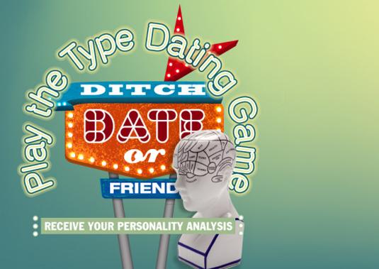 type dating game
