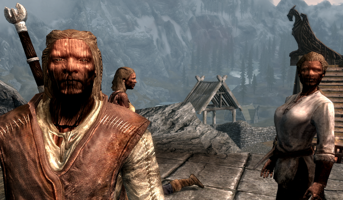 Build Wooden Followers With This Skyrim Mod Pc Gamer