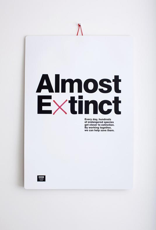 Almost Extinct Calendar