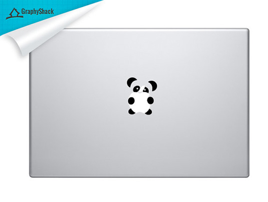 Mac decals - panda