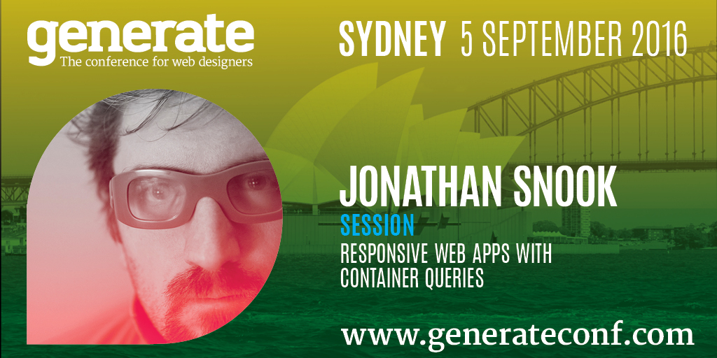 Generate Sydney - Jonathan Snook