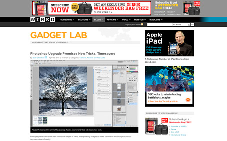 17. Photoshop upgrade promises new tricks, timesavers