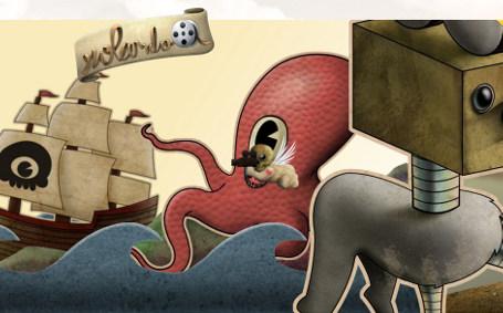 Flash Animations: Folio for Rolando Mendez