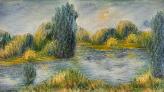 Neural Doodles - Renoir