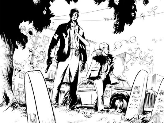 Two Dead at Dark Horse Comics