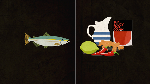 The simple, illustrated style generated by the creatives at The Neighbourhood